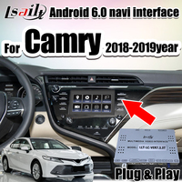 Android 6.0 GPS Navigation Box for 2018 Camry Toyota touch3 Pioneer ,Panasonic Model with multimedia interface r by Lsailt
