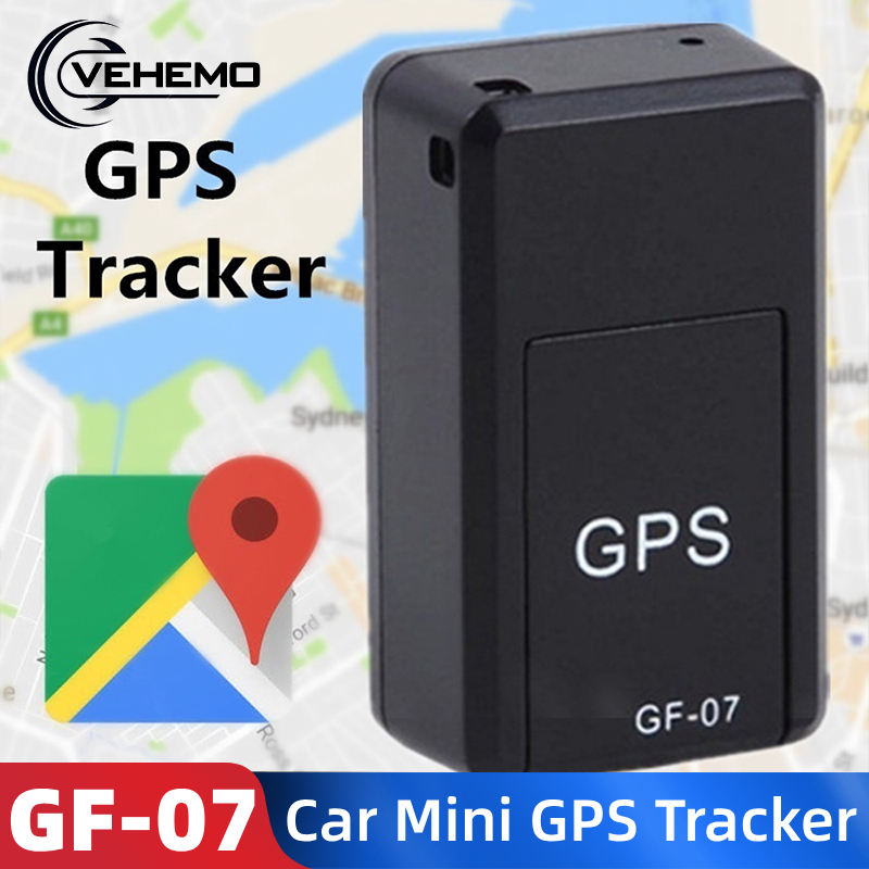 Mini GPS Tracker GF-07 GPS Magnetic SOS Tracking Devices For Vehicle Car Child Location Trackers Locator Systems