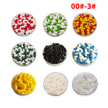 1000/piece 00# 3# Empty Capsule Plant Capsule Shell Edible Starch Capsule Empty Capsule FIlled Empty Capsule Shell