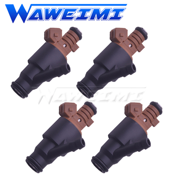 WAWEIMI 4x Fuel Injector Nozzle Valve OE 0280150501 For BMW M44 M42 1.8 1.9 Z3 E36 318i 318is 318ti