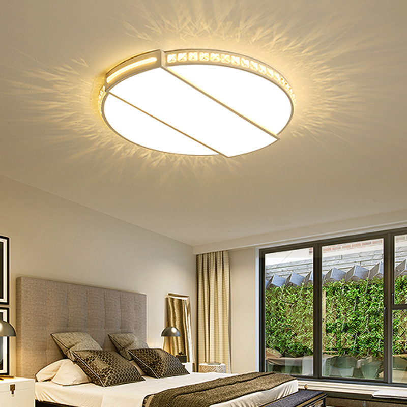 Lighting Round Main Bedroom Led Roof Lighting Simple Modern Household Study Lighting Individual Nordic Room Lighting Ceiling Lights Aliexpress