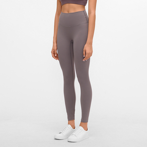 Image 5 - Buttery Soft Naked Feeling High Waist Tight Running Fitness Yoga Sport Pants 4 way Stretch Workout Gym Leggings