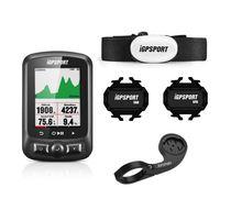 Moniteur de Cycle gps iGS618, écran couleur pour vélo, compteur de vitesse, navigation, stockage de données, 3000 heures, IPX7