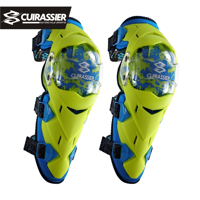 Cuirassier Protective Kneepad Motorcycle Knee pads Off Road Protector Scooter Motor Racing Elbow Guards Safety MX
