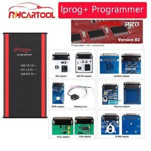 Image 3 - Programador Iprog + V84 para coche, compatible con IMMO, corrección de kilometraje y Airbag, reinicio Iprog Pro Till 2019, reemplazo de Carprog/Digiprog/Tango