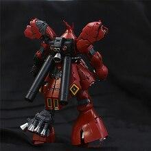 Conjunto de piezas para modelos de Gundam, piezas para modelos Bandai RG 1/144 MSN 04 Sazabi Gundam, Kits de modelos
