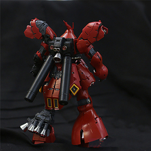 Için Gundam modelleri Metal detay up parçaları seti Bandai RG 1/144 MSN 04 Sazabi Gundam modeli kitleri