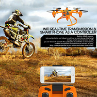 T907W WIFI FPV Led HD Camera Drone Toys Helicopter Mini ABS Altitude Hold RC Quadcopter 6 Axis 4 Channel Selfie Headless Mode