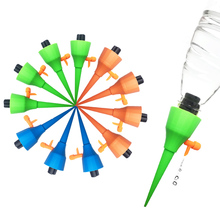 12Pcs Garden Drip Irrigation System Plant Watering Automatic Spike Adjustable Waterer For Indoor Houseplant Flower Sprink