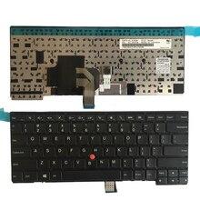 Nouveau clavier AMÉRICAIN Pour Thinkpad L440 L450 L460 T431 T431S T440 T440P T440S T450 T450S E431 E440 clavier dordinateur portable US Non rétroéclairé