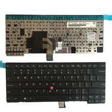 Nuevo teclado de EE.UU. para Thinkpad L440 L450 L460 T431 T431S T440 T440P T440S T450 T450S E431 E440 nos teclado del ordenador portátil no retroiluminada