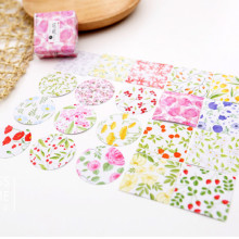 45pcs/set Creative Flower Plant Post It Decorative Stationery Stickers Scrapbooking DIY Diary Album Stick Lable Flower Stickers(China)