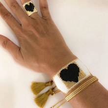 Go2boho – Bracelet Miyuki en forme de cœur, bijou en perles japonaises, tissé à la main, cadeau pour femmes et amis, tendance 2021