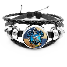 2019 New Hot Popular Mens Glass Cabochon Animal Pattern Bracelet Jewelry Gift  From The Batch
