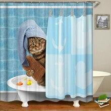 민들레 인쇄 방수 샤워 커튼 폴리 에스터 직물 목욕 커튼 홈 욕실 커튼 12 후크 샤워 커튼