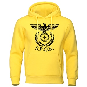 SPQR Roman Eagle Hoodies Men Tracksuit 2
