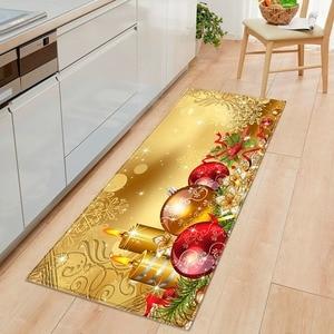 Merry Christmas Mat Outdoor Carpet Doormat Santa Ornament Christmas Decor For Home 2020 Navidad Noel Cristmas Gift New Year 2021