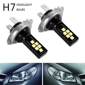 2PCS H7 LED Car Anti-fog Light