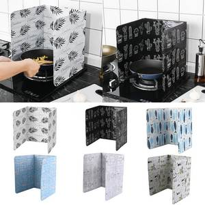 Gadgets Splatter-Guard-Plate Screen Kitchen-Accessories Aluminium-Foil-Oil Splash-Proof