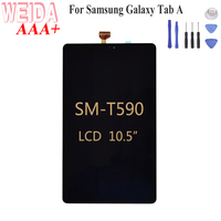 """WEIDA LCD Replacment 10.5"""" For Samsung Galaxy Tab A 10.5 SM T590 T590 SM T595 T595 LCD Display Touch Screen Assembly