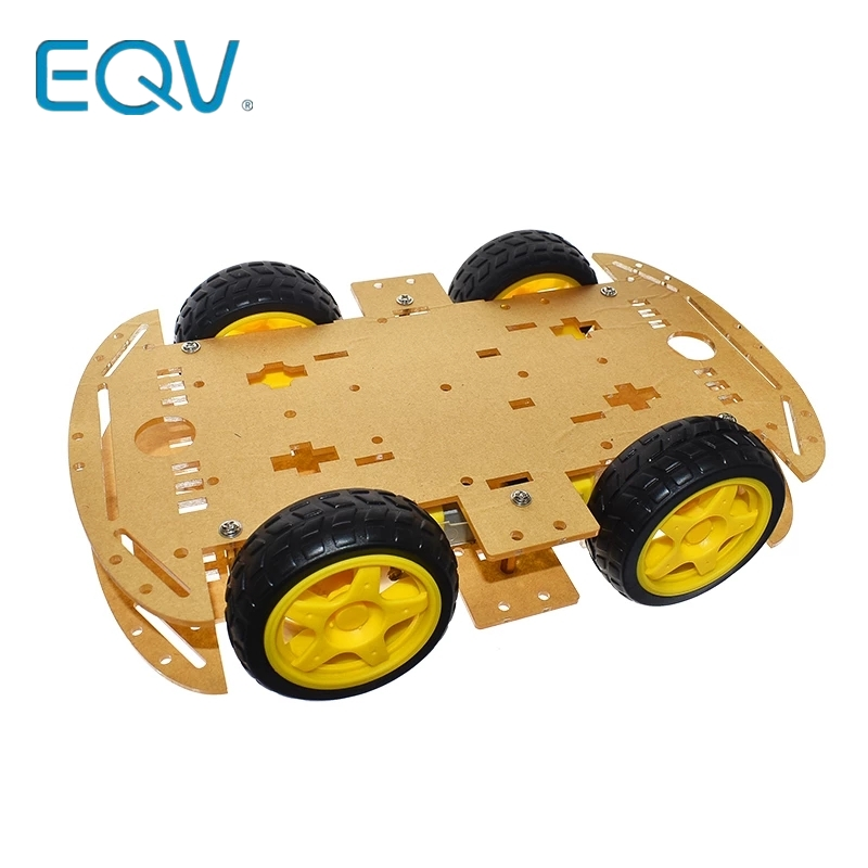 For Arduino UNO R3 Robot 4WD Cars RC Remote Control Bluetooth Robotics Learning Kit Educational