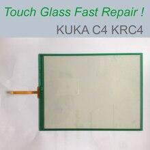 Сенсорная панель экрана для KUKA C4 KRC KRC4 KR 00-189-002 00-168-334 KRC4 сенсорная Замена стеклянного экрана