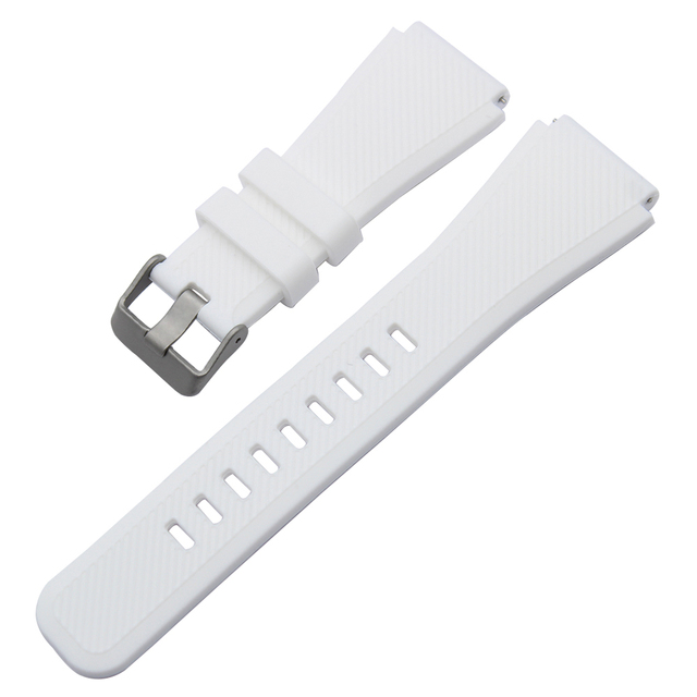 Quick Release Silicone Rubber Watchband for Fossil Q Founder Wander Crewmaster Grant Marshal Explorist Watch Band Wrist Strap