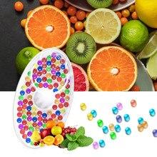 Bolas de cápsula para fumar, cuentas de menta, filtro de cigarrillo con sabor a fruta, accesorios para fumar, regalo de tabaco, 100 Uds.