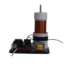 pllsstc SSTC 100W diy tesla coil solid state Tesla coil AC 220V music plasma horn speaker e