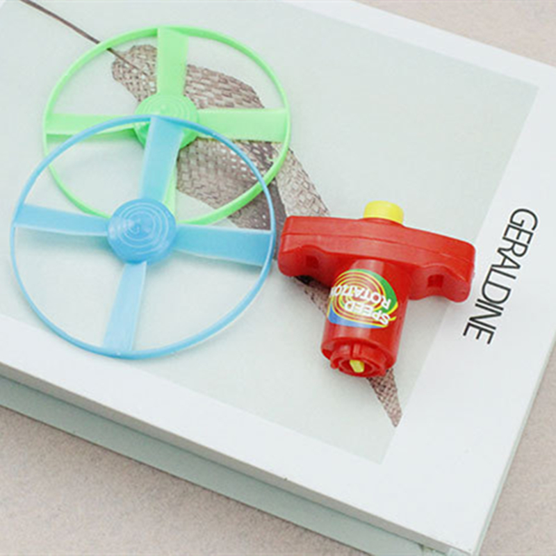 Huilong Flying To The Sky New Exotic Gifts Toys Plastic Toys Gyro Launch Gyro Entertainment  Sports Children's Toys Game UFO