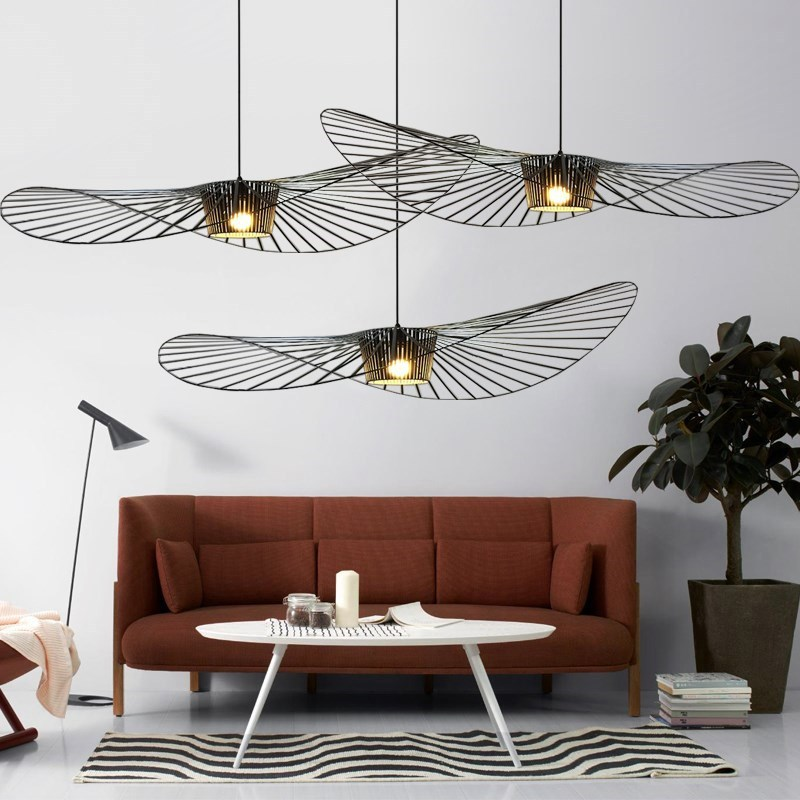 Nordic LED Vertigo Pendant Light Lustre Suspension Lamparas De Techo Colgante Moderna Kitchen Hanging Lamps Living Room Pendant