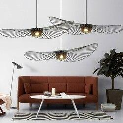 Nordic LED Vertigo Pendant Light Lustre Suspension Lamparas De Techo Colgante Moderna Kitchen Hanging Lamps Living Room Pendant