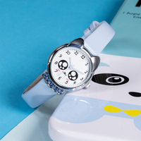 KDM Children Watch Cadeau Femme Girls Watches Kids Birthday Gifts Sport Wristwatches Waterproof Leather Strap Relog Nino 0071