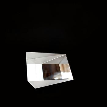 30 stopni przetwarzania szkła optycznego K9 leniwy okulary producent z prawej trójkątny pryzmat tanie i dobre opinie NoEnName_Null 60 40 Triangle Prism 19*26*33mm 0 01-0 1