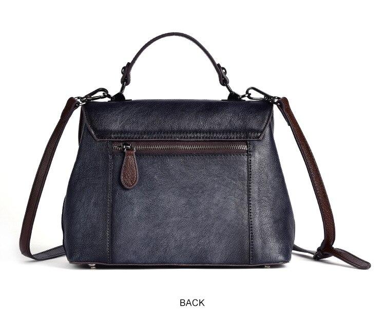 2020 novas bolsas de couro genuíno das