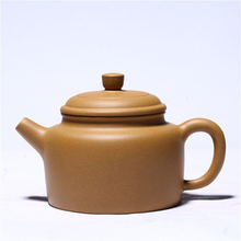 Yixing purpurowa glina czajniczek ręcznie dzbanek na herbatę sekcja błoto dużej pojemności 340ML Dezhong Gong Fu Teaware prezent niestandardowy hurtownie tanie tanio tcup CN (pochodzenie) 301-400 ml Z fioletowej gliny