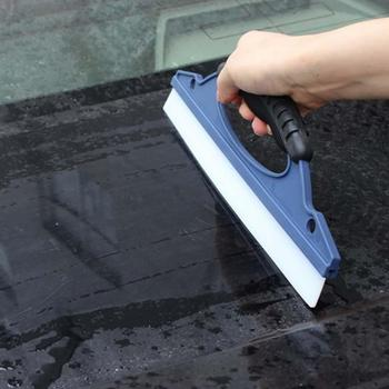Car Vehicle Window Body Cleaning Water Snow Remover Brush Squeegee Wiper Scraper image