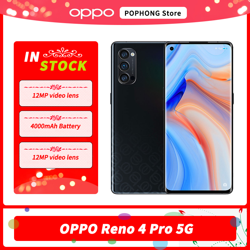 OPPO Reno 4 Pro 5G Mobile Phone 6.5 inch 90Hz OLED Curved Screen Snapdragon 765G face unlock Hyper Boost 3.0 NFC Google Play|Cellphones| - AliExpress