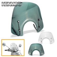 For Vespa GTS300 Motorcycle ABS Windshield GTS 300 Wind Deflector Windscreen Moto Higher Accessories