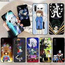 Undertale Sans And His Puns Black TPU Soft Phone Case Cover for Xiaomi Mi10 10Pro 10 lite Mi9 9SE 8SE Pocophone F1 Mi8 Lite(China)