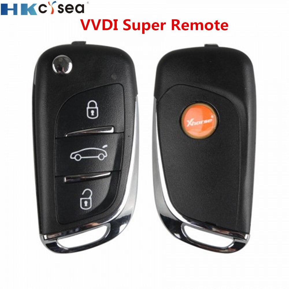 Xhorse 2/5/10pcs/lot Universal DS Style 3 Buttons VVDI Supe Remote Car Key For VVDI MINI Key Tool VVDI2 Key Programmer