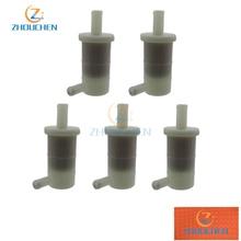 5pcs Gas Fuel Filters For 2001-2008 KAWASAKI Ninja ZZR600 ZX6R ZX7R OEM 49019-1081