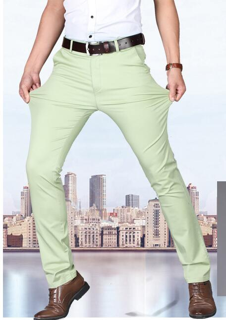 Men Casual Office Pants Formal Wedding Party Dress Social Door To Fashion
