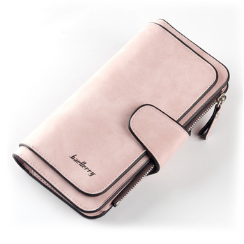 Women Wallets Name Engrave Fashion Long Leather Top Quality Card Holder Classic Female Purse  Zipper  Wallet For Women 8