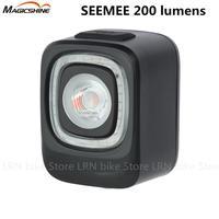 MAGICSHINE SEEMEE 200 Smart Fahrrad Schwanz Licht USB Lade Licht 200 Lumen Mountainbike Rücklicht Rennrad Warnung Licht