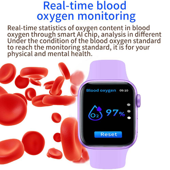 2021 IWO Smart Watch Men Women Series 6 Heart Rate Monitor Sport Smartwatch 44mm Fitness Bracelet Clock For Iphone Xiaomi Huawei 4