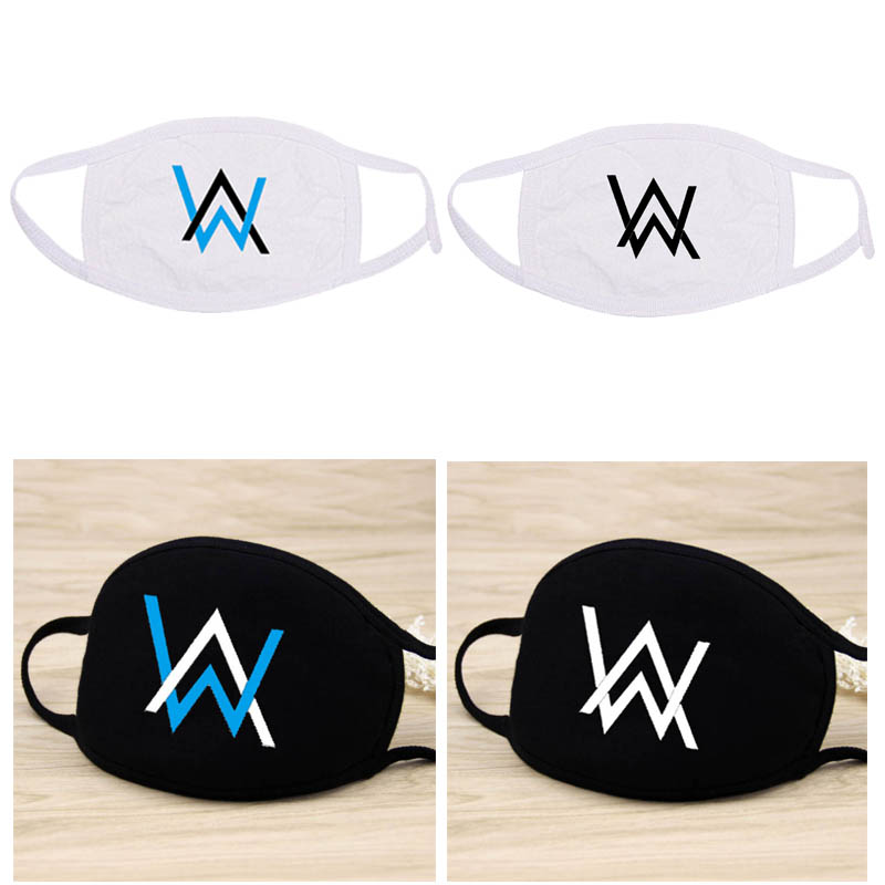 Men Women Breathable Mouth Mask Alan Walker Cotton Face Masks Dust Masks
