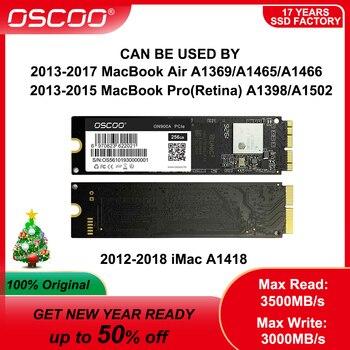 OSCOO M.2 NVMe PCIe Gen3.0*4 SSD For MacBook Air 2015 2016 A1466 2013 Mac mini A1347 Internal Solid State Drive 256GB 512GB 1TB