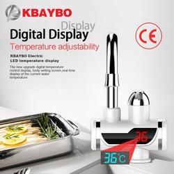 3000W calentador de agua eléctrico instantáneo grifo de la cocina filtro de agua 2 tipos de modo de salida se pueden consumir directamente