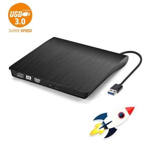 USB 3.0 External DVD Drive Bur